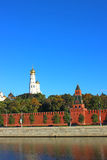 Moscow Kremlin. And Red Square in Moscow Stock Photo