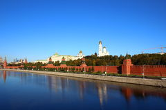Moscow Kremlin. And Red Square in Moscow Royalty Free Stock Photos