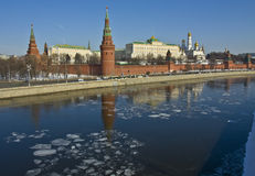 Moscow, Kremlin Royalty Free Stock Photography