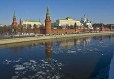 Moscow Kremlin Royaltyfri Fotografi