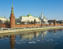 Moscow, Kremlin Royalty Free Stock Photos