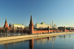Moscow Kremlin. View on the Moscow Kremlin Stock Photography