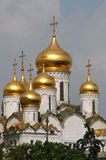 Moscow Kremlin. The Annunciation cathedral in Moscow Kremlin, Russia Royalty Free Stock Photography