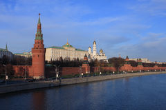 Moscow Kremlin. View of Moscow Kremlin. Russia Royalty Free Stock Photos
