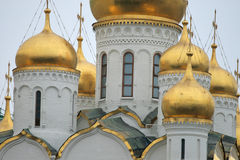 Moscow. Kremlin. Cathedral Square or Sobornaya Square Royalty Free Stock Photos