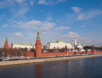 The Moscow Kremlin. Towers of the Moscow Kremlin Royalty Free Stock Image