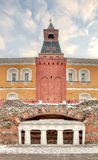 Moscow. Kremlin. Alexander Garden. Grotto Stock Photos