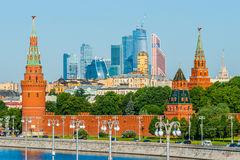 Free Moscow Kremlin And The City Stock Image - 89853801
