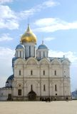 Moscow Kremlin, Archangels Cathedral. MOSCOW - APRIL 24: Moscow Kremlin inside, The Archangels Cathedral in a sunny day. UNESCO World Heritage Site. Photo was Royalty Free Stock Images