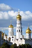 Moscow Kremlin architecture. Color summertime photo. stock photos