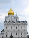 Moscow Kremlin, beautiful old church. UNESCO World Heritage Site Royalty Free Stock Images