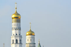 The Moscow Kremlin, bell tower of Ivan Veliky Royalty Free Stock Photography