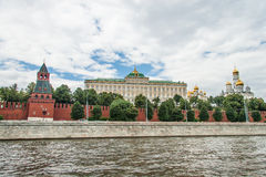 Moscow Kremlin Building in summer time stock photos