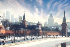 Moscow Kremlin Cathedra stock image