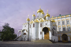 Moscow Kremlin cathedral Royalty Free Stock Photos