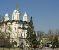 Moscow, Kremlin cathedral Royalty Free Stock Photography