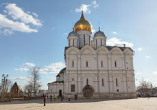 Moscow Kremlin The Cathedral of the Archangel Stock Photography