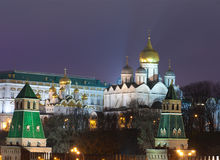 Moscow Kremlin Cathedral Stock Image
