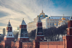 Moscow Kremlin Cathedral stock photography