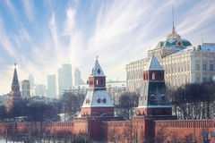 Moscow Kremlin Cathedral royalty free stock image