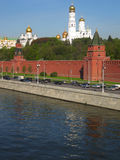 Moscow, Kremlin with cathedrals Royalty Free Stock Photography