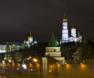Moscow, Kremlin cathedrals Royalty Free Stock Photo