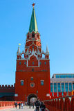 The Moscow Kremlin.The Church in Russia. Old and ancient religious building in the city of Moscow Stock Image