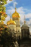 Moscow Kremlin churches Royalty Free Stock Photography