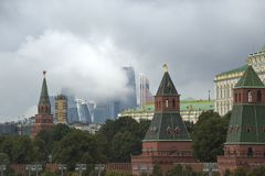 Moscow,Kremlin,city. 21 09 2016 Stock Images