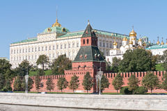 Moscow. Kremlin. Cityscape Stock Photos