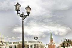 Moscow Kremlin. Color photo Royalty Free Stock Photo