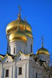 Moscow Kremlin. Color photo. Annunciation cathedral Royalty Free Stock Image