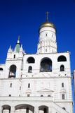 Moscow Kremlin. Color photo. Ivan Great Bell tower. Royalty Free Stock Photos