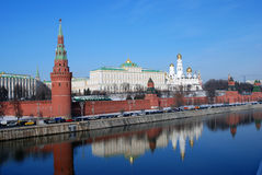 Moscow Kremlin. Color photo. Royalty Free Stock Image