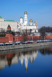 Moscow Kremlin. Color photo. Royalty Free Stock Photography