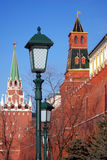 Moscow Kremlin. Color photo. Royalty Free Stock Photos