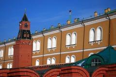 Moscow Kremlin. Color photo. Stock Photos