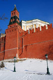 Moscow Kremlin. Color photo. Royalty Free Stock Images