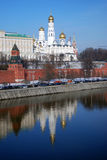 Moscow Kremlin. Color photo. Stock Image