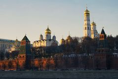 Moscow Kremlin. Color photo. Stock Photography