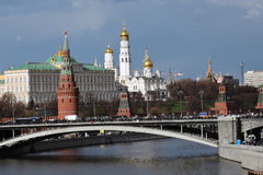 Moscow Kremlin. Color photo. Royalty Free Stock Photo