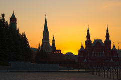 Moscow Kremlin at Dawn Stock Image