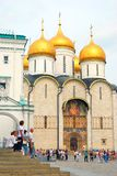 Moscow Kremlin. Dormition church. UNESCO World Heritage Site. Stock Photography