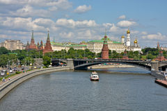 The Moscow Kremlin. Royalty Free Stock Photos