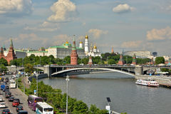 The Moscow Kremlin. Royalty Free Stock Photos