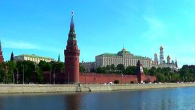 Moscow, Kremlin stock footage