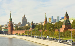 Moscow, Kremlin Royalty Free Stock Images