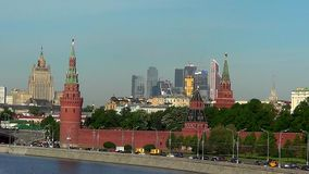 Moscow, Kremlin stock video