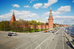 Moscow Kremlin, Grand Kremlin Palace, Cathedrals Royalty Free Stock Images