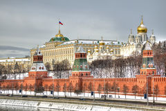 Moscow Kremlin. HDR Stock Photography